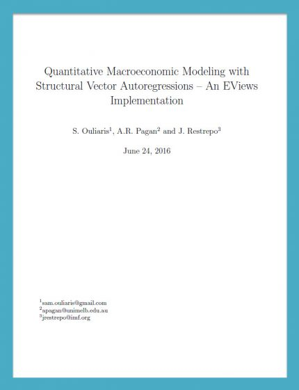 QUANTMACROMODELING